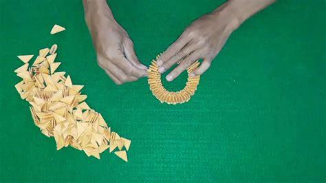 membuat origami vas bunga step  step youtube