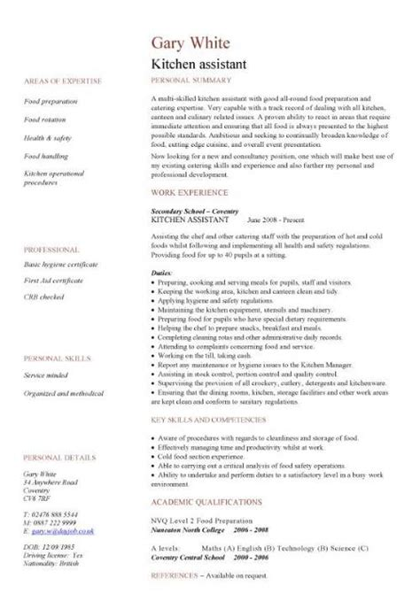 Free catering CV template samples, catering jobs, event
