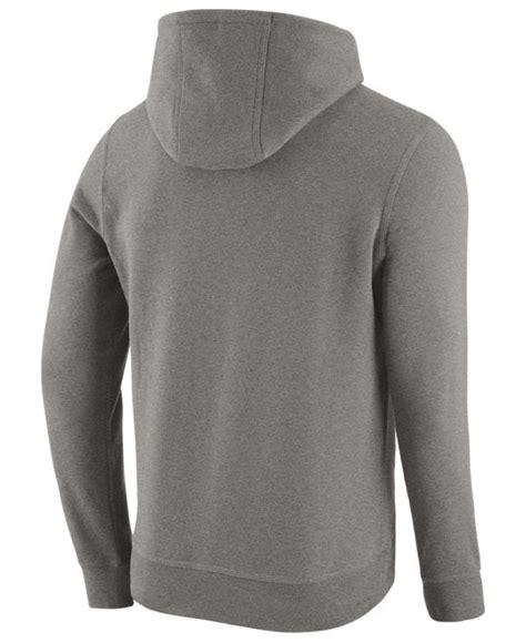 Hoodie Yankees Grey 1 nike s new york yankees pullover fleece hoodie in gray for lyst