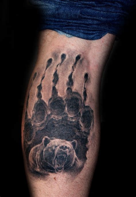 100 bear claw tattoo designs for men sharp ink ideas