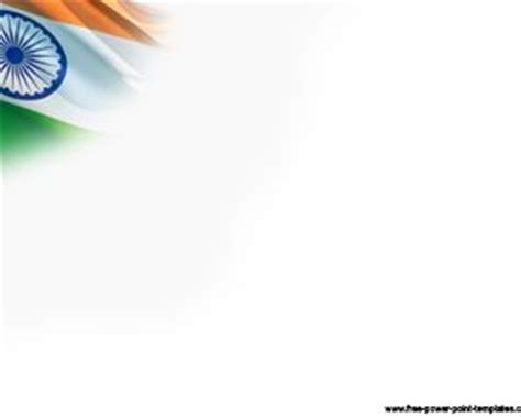 India Flag Template Ppt Template India Powerpoint Template