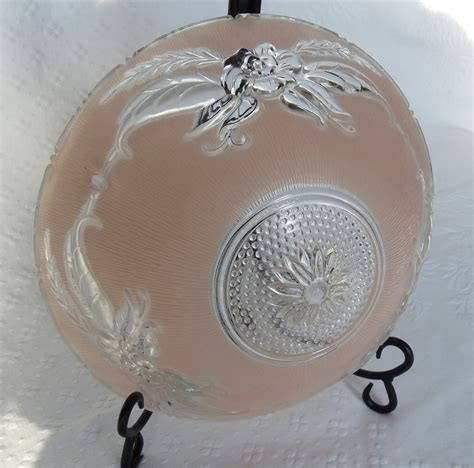 Vintage Ceiling Light Covers Vintage Dome Style Ceiling Light Cover Shade By Disndatvintage