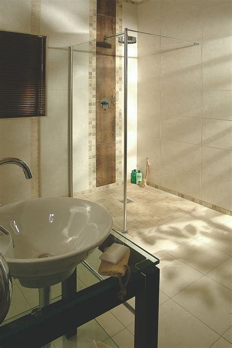 sleek shower shower rooms shower room ideas image 7 ideas to improve a universal and accessible hotel shower
