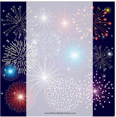 fireworks templates free seasonal wedding all free wedding invitations