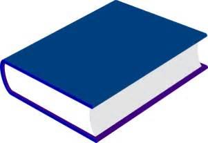 blue book clip at clker vector clip