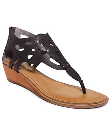 baretrap sandals bare traps baccall wedge sandals shoes macy s
