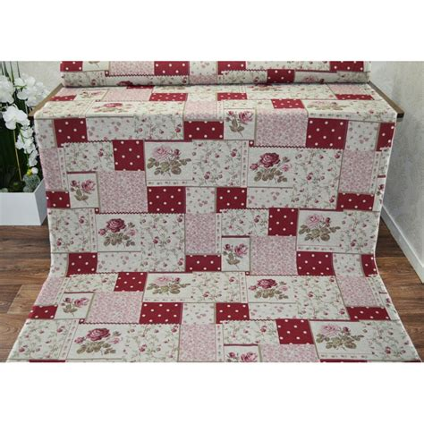 Fabric For Patchwork Uk - madon floral patchwork pink by mill from