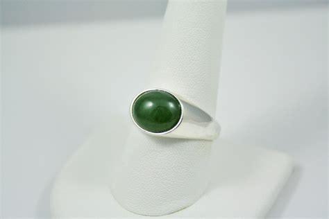 dark jade dark green jade ring