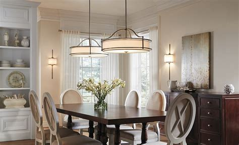 Dining Room Light Fixture Installation by Dining Room Lighting Gallery From Kichler