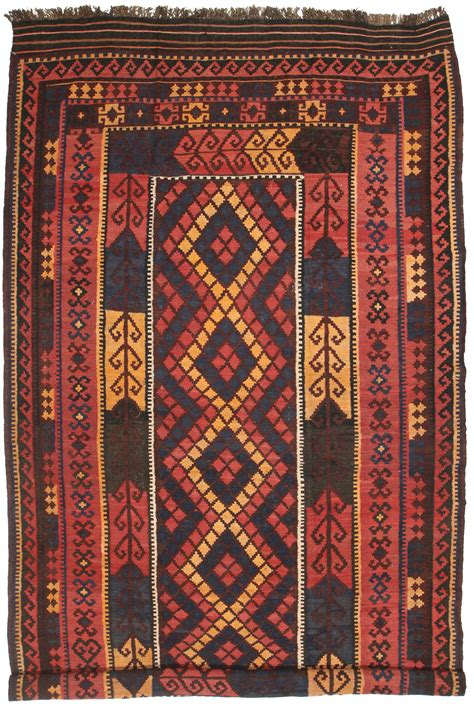 8 X 15 Rug by Afghan Wool Kilim 8 X 15 Flat Woven Rug 6411 Exclusive