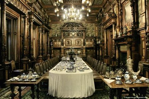 castle dining room peles castle dining room romania go