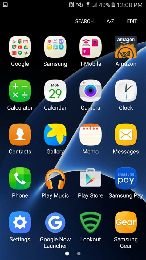 themes s7 edge download check out the new touchwiz on galaxy s7 s7 edge themes