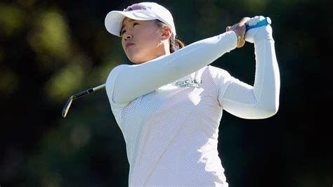 amy yang golf swing amy yang and seon hwa lee share lead after frigid opener