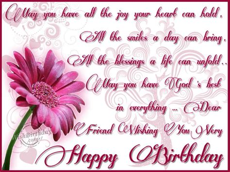 Happy Birthday Wishes Friend Images Dear Friend Wishing You Very Happy Birthday Pictures