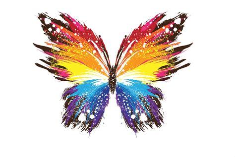 mariposa en word mariposa multicolor texto de elizabethmarn1 s 243 lo50