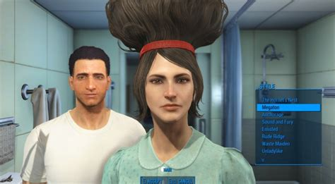 hairstyles ark unlock hair and face models fallout 4 mods