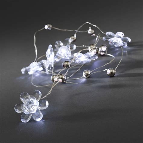 konstsmide 20 battery operated static white led fairy