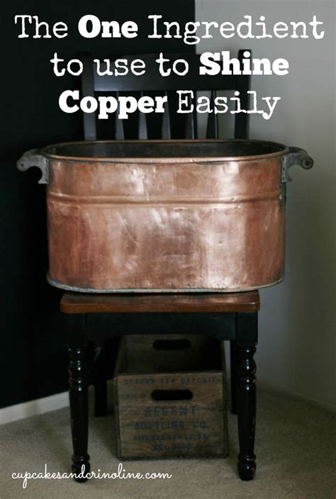 How To Clean A Copper Tub hometalk best affordable way to clean copper