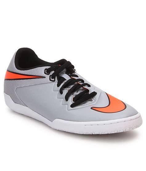 nike hypervenomx pro gray sports shoes price in india buy