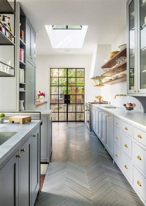 17 best ideas about small galley kitchens on pinterest