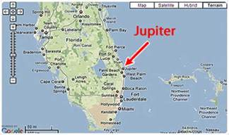 map of florida jupiter image gallery jupiter florida