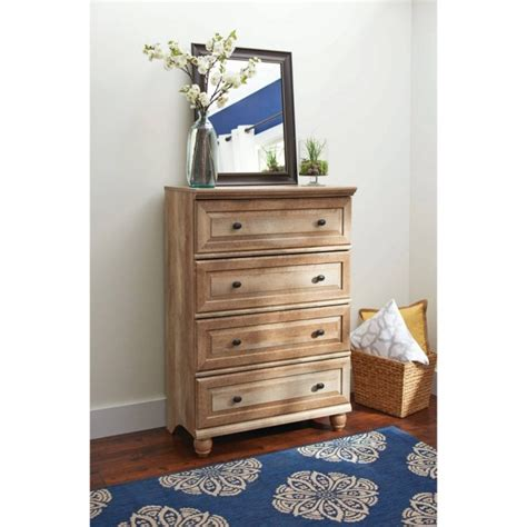 Oak Bedroom Dressers Rustic Bedroom Design With Walmart Chest Drawers Dresser Finished Oak Wood Construction