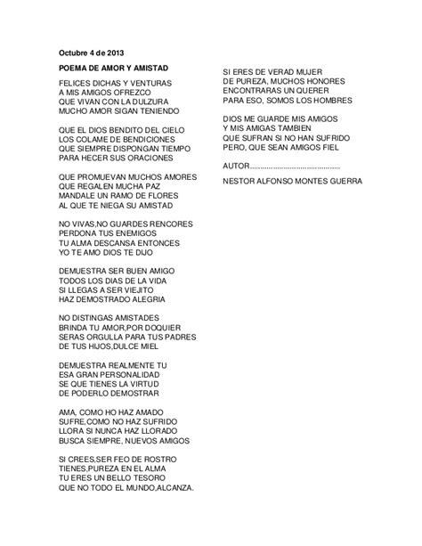 poemas de amistad poemas de amor poesias y poemas poema de amor y amistad
