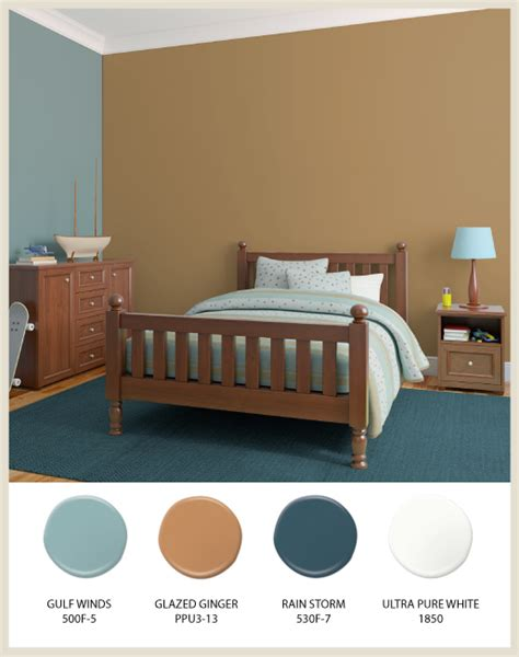 colorfully behr earth tones for