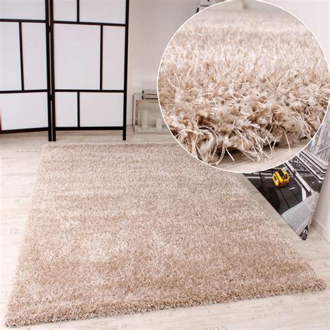 shaggy teppich shaggy teppich hochflor langflor leicht meliert qualitativ