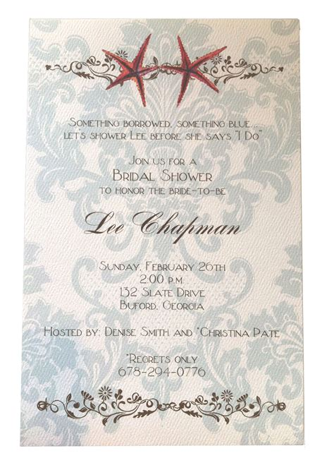 themed invitation template themed bridal shower invitations template best