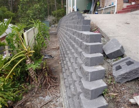 Home Designs And Prices Qld by Australian Retaining Walls Diamond Concrete Block