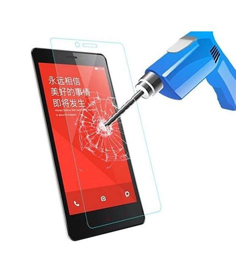 Taff Tempered Glass Protection Screen 03mm For Xiaomi Mi4 As taff 2 5d tempered glass curved edge protection screen 0
