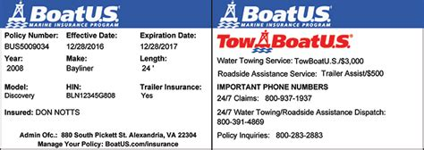 boat insurance towing boat towing coverage boatus boat insurance