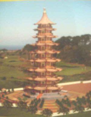 Pajangan Menara Pagoda pagoda senilai rp17 m dibangun di tuban okezone news