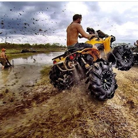 mudding four 17 best images about can am atvs on pinterest novelty
