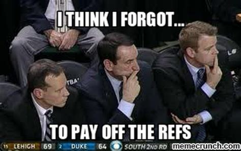 Coach K Memes - coach k lectures yet another opponent in handshake line