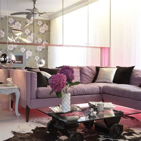 purple living rooms living room with purple and brown mii casa pinterest