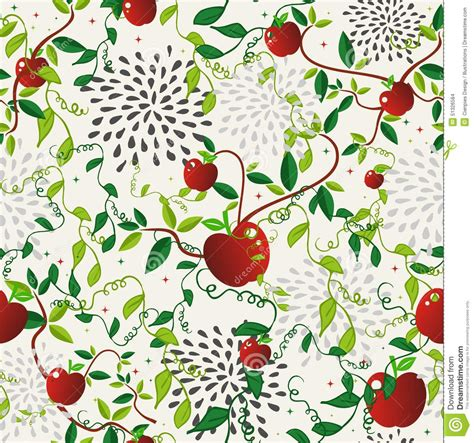 pattern for fabric apple red apple food seamless pattern stock vector image 51326584