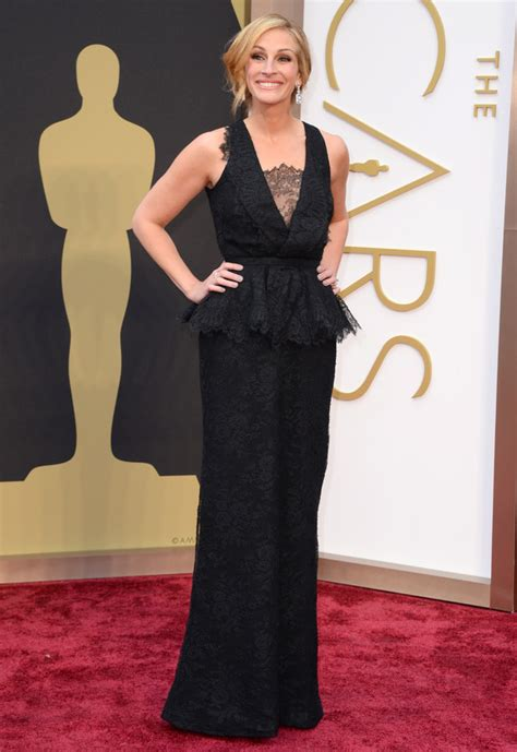 film oscar julia roberts red carpet style oscars re cap in honor of design