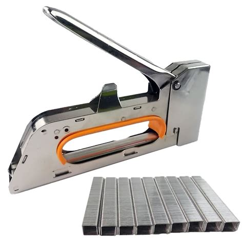 heavy duty tacker staple gun 4 6 8mm upholstery stapler