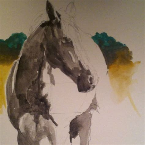 watercolor horse tutorial 42 best images about horse cow on pinterest ceramics