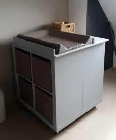 un meuble 224 langer avec du rangement bidouilles ikea
