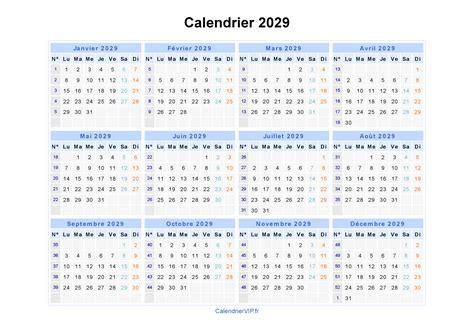 Calendrier 2018 Ccq Calendrier 2029 224 Imprimer Gratuit En Pdf Et Excel