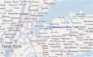 New York Washington Map by Port Washington New York Tide Station Location Guide