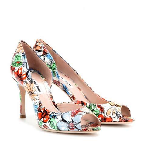 scarpe fiori scarpe a fiori primavera estate 2014 i modelli
