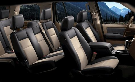 2008 Ford Explorer Interior by Car And Driver
