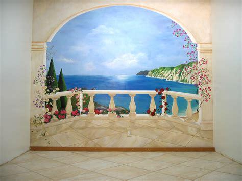 Trompe L Oeil Mural 2363 by Oeil Trompe Wall Mural Trompe Loeil Curtains Wall Murals