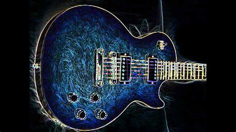 Rok Blus rock blues backing track in a minor