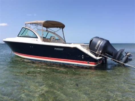 used pursuit boats in massachusetts pursuit dc 265 boats for sale in massachusetts