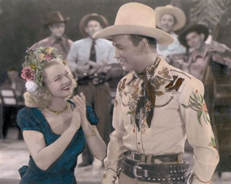 roy rogers fade dale roy rogers roll on moon 1946 8x10 quot color tinted photograph ebay